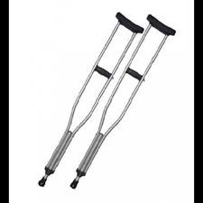 AXILARY CRUTCH (pair) MEDIUM