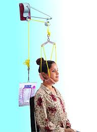 CERVICAL TRACTION KIT(sitting) WITH WEIGHT BAG