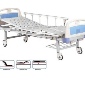 Two Cranks Manual Hospital Bed